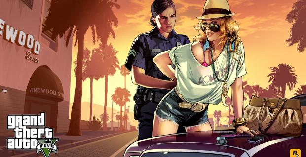 Grand Theft Auto V Frisk Wallpaper