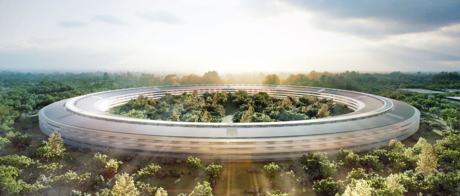 Apple Campus Concept Art