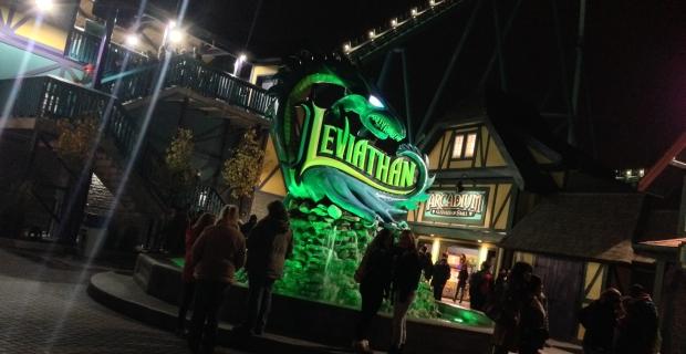 Canada's Wonderland Halloween Haunt Leviathan