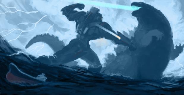 Godzilla vs. Pacific Rim – FIGHT!