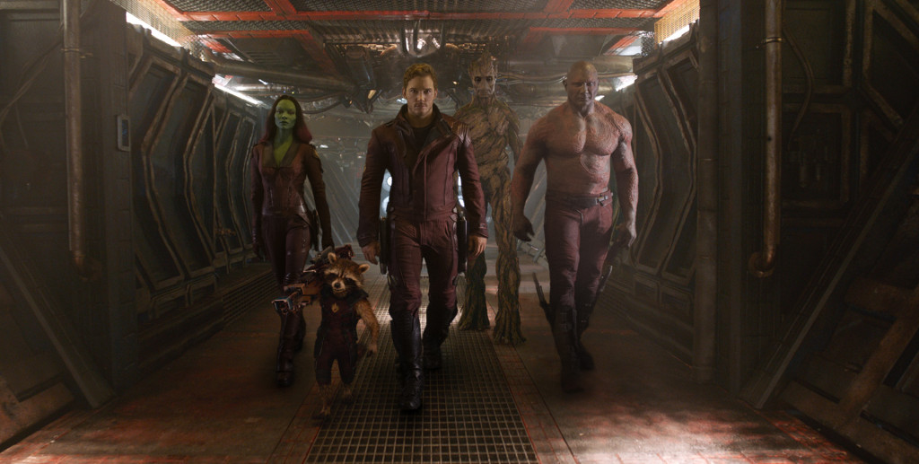 Guardians of the Galaxy Officia Photo Roster