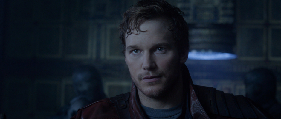 Guardians of the Galaxy Official Photo Chris Pratt Quill Star-Lord Intro