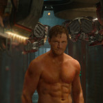 Guardians of the Galaxy Official Photo Chris Pratt Workout