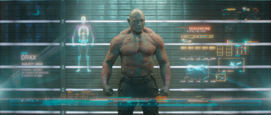 Guardians of the Galaxy Official Photo Drax Prison Lineup