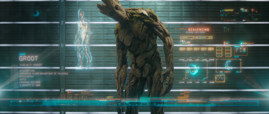 Guardians of the Galaxy Official Photo Groot Prison Lineup
