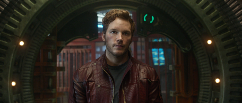 Guardians of the Galaxy Official Photo Peter Quill Uniform