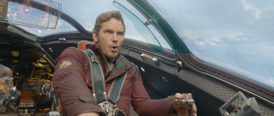Guardians of the Galaxy Official Photo Quill Flying