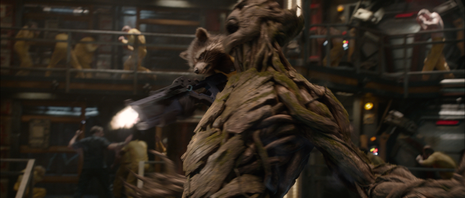 Guardians of the Galaxy Official Photo Rocket Groot Prison
