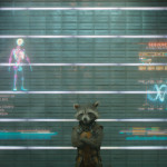 Guardians of the Galaxy Official Photo Rocket Raccoon Prison Lineup