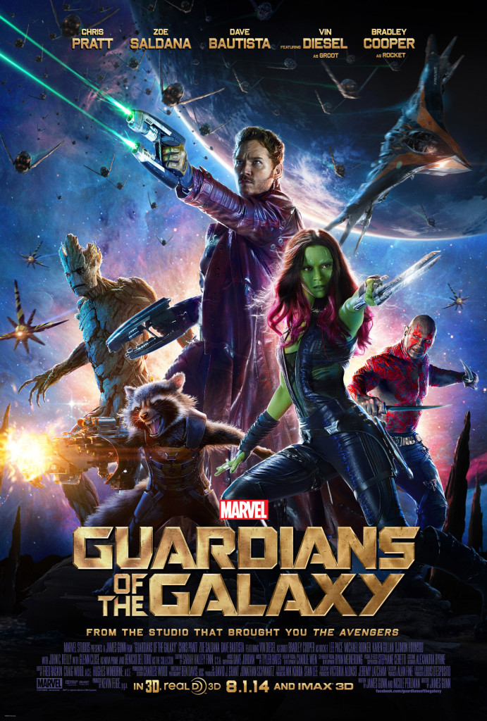 Second Guardians of the Galaxy Poster