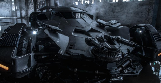 Check Out The Badass New Batmobile From 'Batman V Superman'