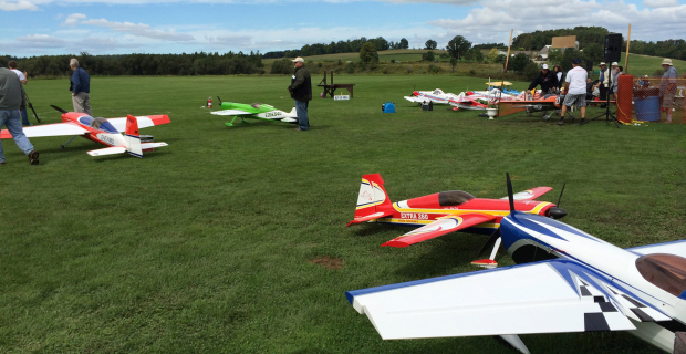 St Jacobs Scale Model Air Show 2014 Flight Area