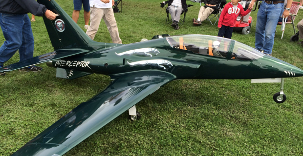 St Jacobs Scale Model Air Show 2014 Interceptor